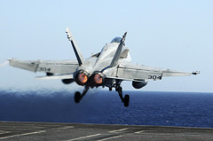 Aircraft Launched From Carrier