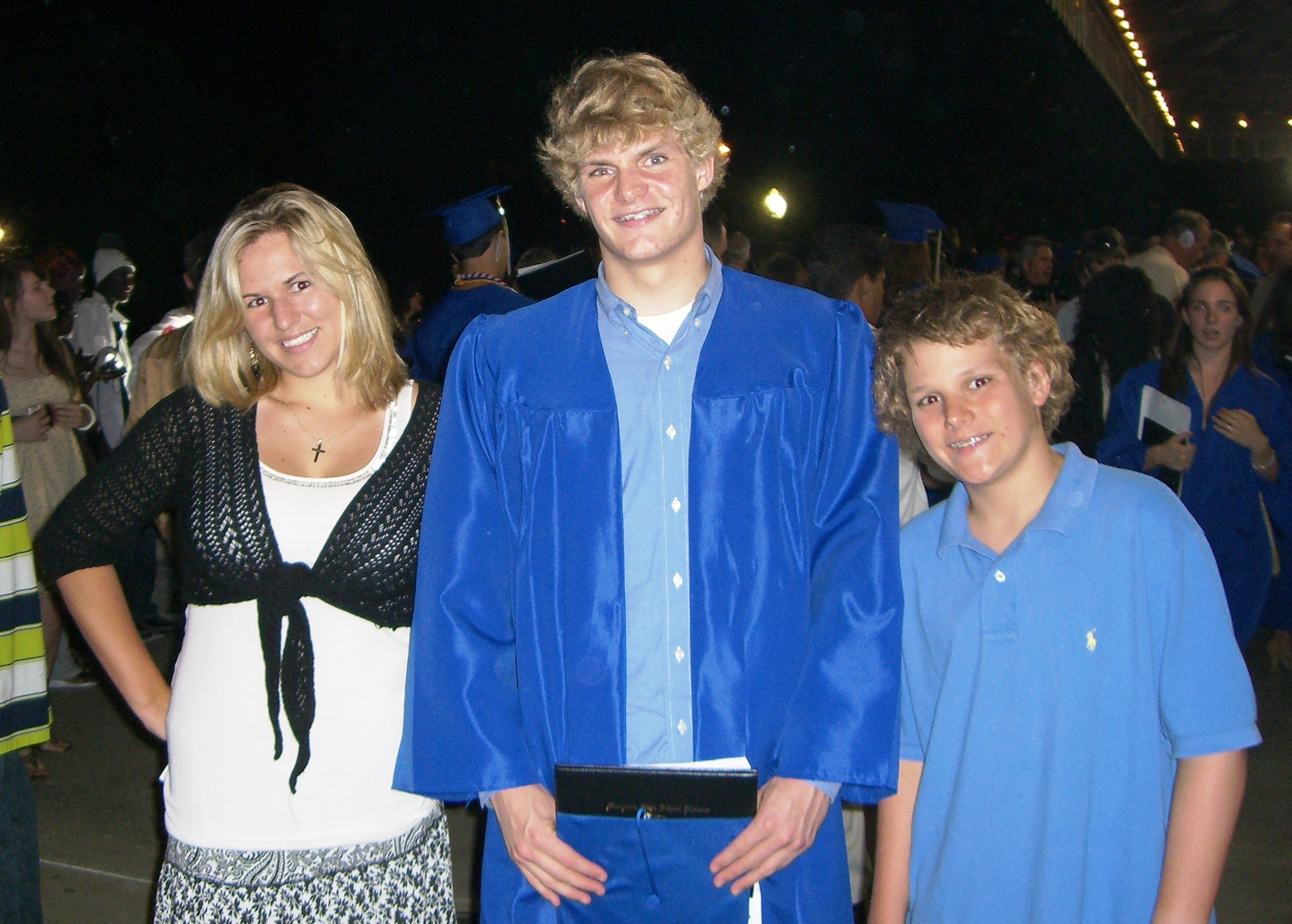 HHM4 and siblings at graduation