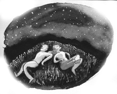 Star gazing with a friend (Kevin Gillespie)