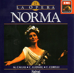 Cover for album for Norma