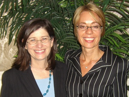 Carol Kauffman and Margaret Moore