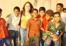 Suzie and Indian Boys