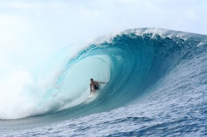 Riding a Big Wave