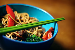 Stir fry and Chopsticks