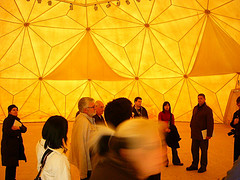 In a Geodesic Dome