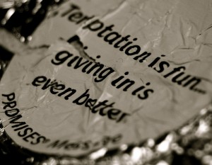 Temptation is fun - giving in is even bettter?