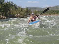 Open Boat through Rapids