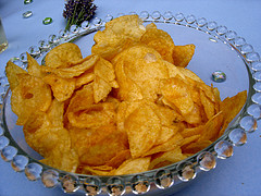 A Big Bowl of Potato Chips