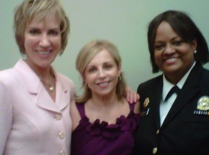 Dr. Pam Peeke, Elaine O'Brien, Surgeon General Regina Benjamin