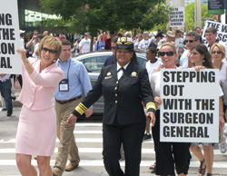 Stepping Out with the Surgeon General