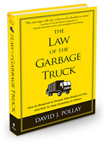 Book Cover for The Law of the Garbage Truck