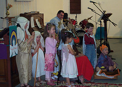 School Nativity Play