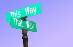 This way or that way?
