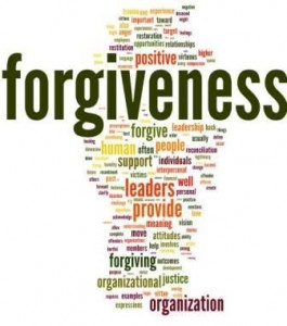 Word cloud of Cameron article on Organizational Forgiveness
