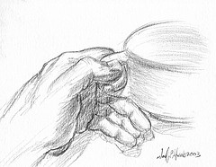 Draw a coffee cup