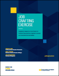 Job Crafting Exercise