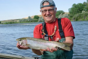 Fishing the Bighorn River, MT