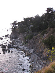 View from Esalen