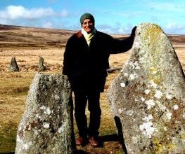 Satish on Dartmoor