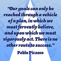 Picasso on goals