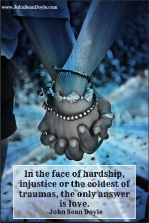In the face of hardship