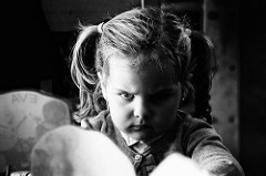Angry child