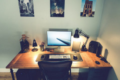 Setting up a home office