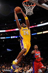 Kobe Bryant in action